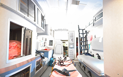 Pro Care Equipment Rental for Film & TV Productions: Ambulance Interior