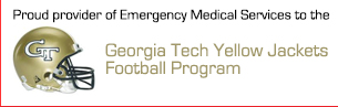 Pro Care Proudly Provides EMS to Georgia Tech Football