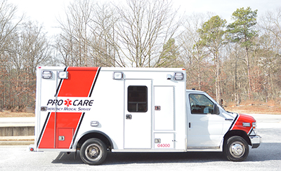 Pro Care Equipment Rental for Film & TV Industry - Box Ambulance