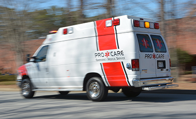 Pro Care Equipment Rental to Film & TV Productions: Van Ambulance